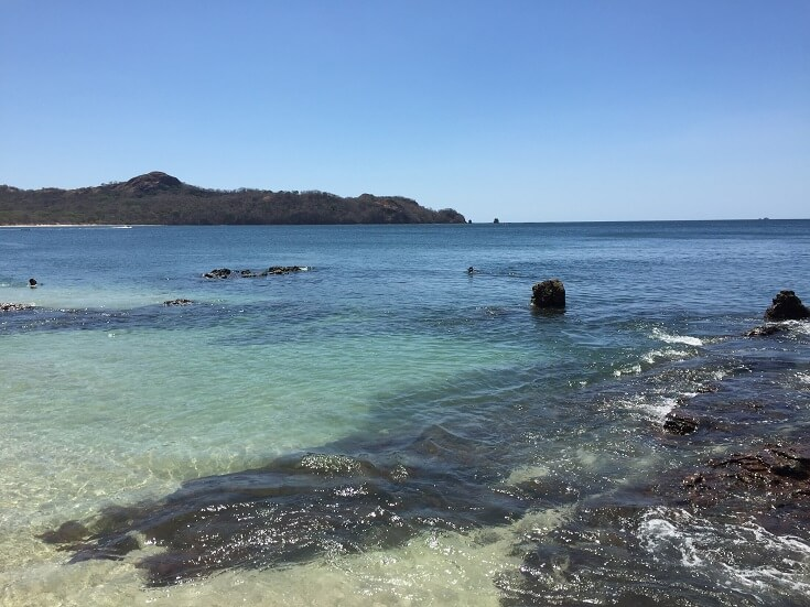 Playa Conchal in Guanacaste Costa Rica is one of the most beautiful beaches in the world