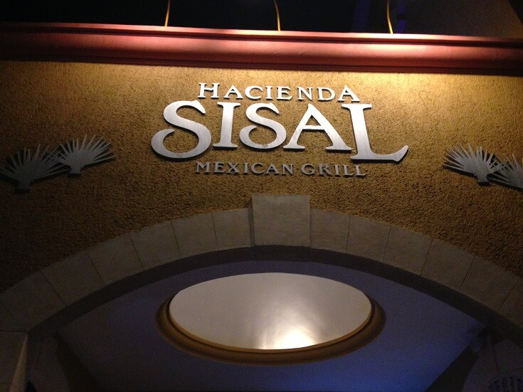 Entrance to Hacienda Sisal