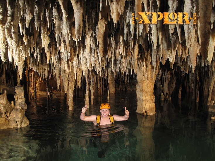Xplor underground river swim