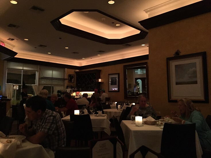 Cafe Marquesa's dining room