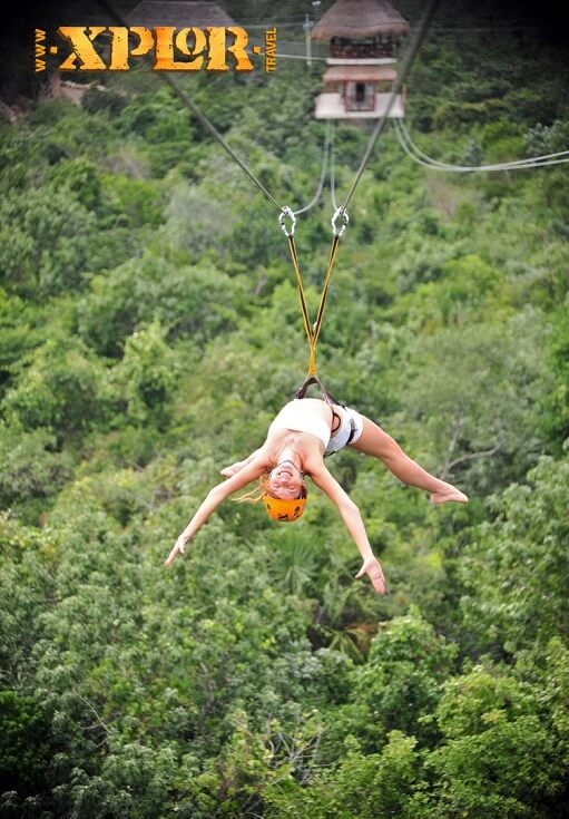 Xplor's thrilling zip lines