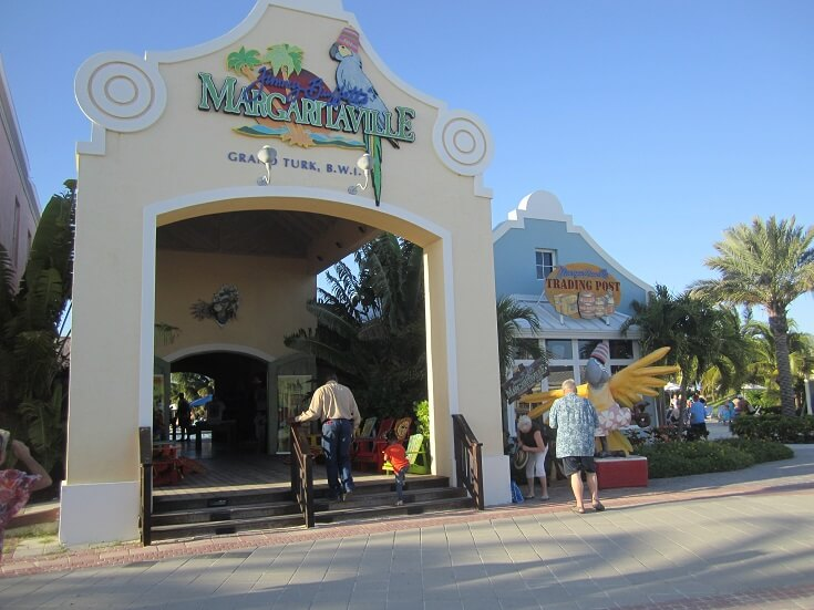 Downtown Grand Turk was a great place to stroll through the town