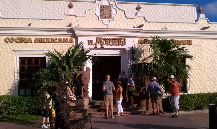 Hacienda Mortero Entrance