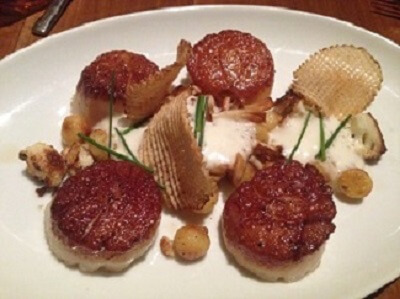 Kettner Exchange's Scallops