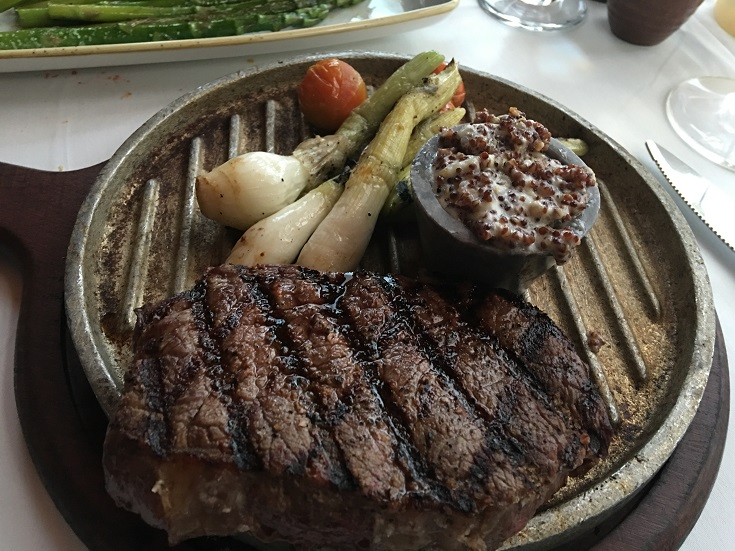 La Capilla's Ribeye at the Marriott Casa Magna