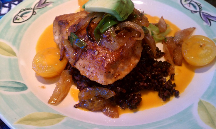 Mama's Fish House sweet and tasty Ono