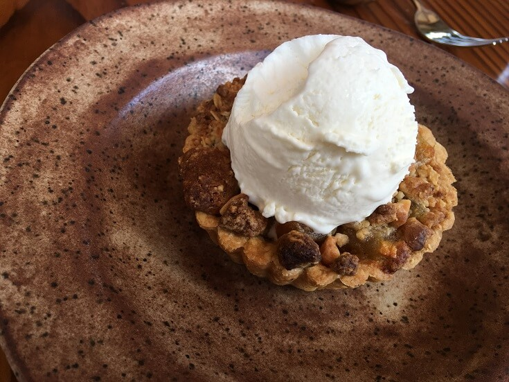 Mill House apple pie