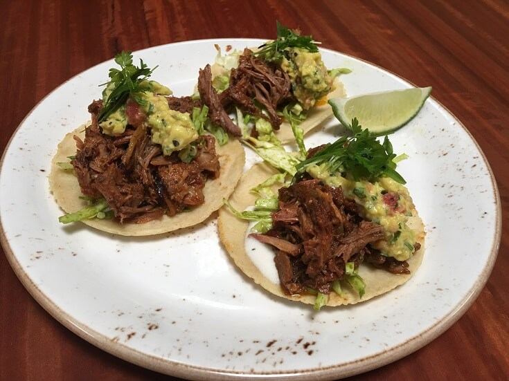 Mill House Beef Tacos