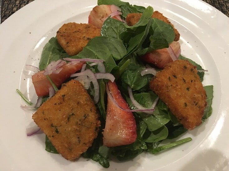 Plantation House Spinach Salad