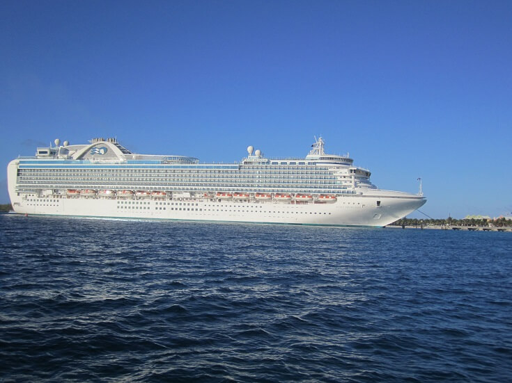 Ruby Princess cruise to the Caribbean