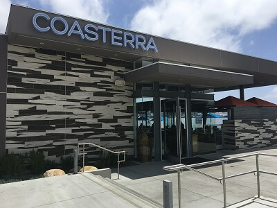 Coasterra sits right on the water with great views