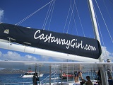 The Castaway Girl's catamaran