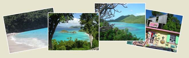 St John photo collage