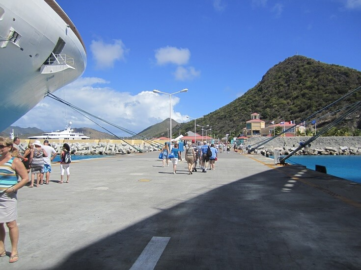 St Marteen cruise ship terminal