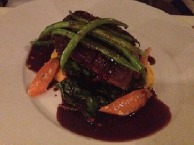 Winesellar's angus beef braised short ribs