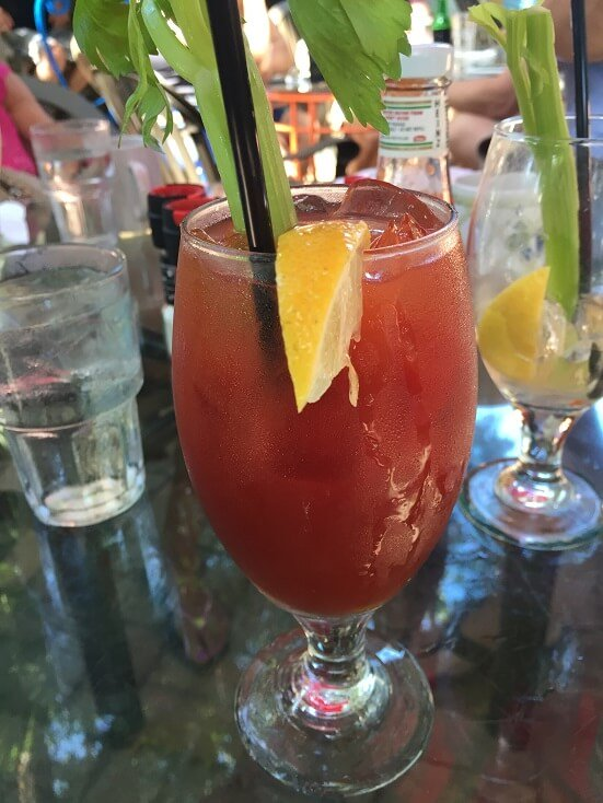 Blue heaven bloody Mary