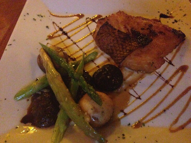 The melt in you mouth, Chilean Sea Bass at Puerto Madero.
