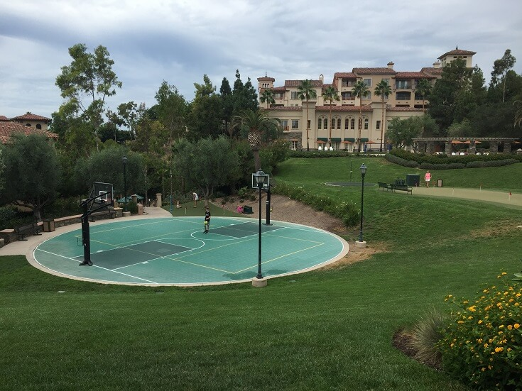 Shoot some hoops on this great basketball court