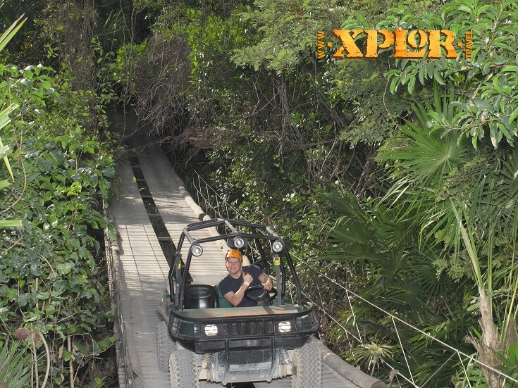 Off roading at Xplor
