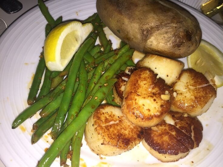 The Cliff's scallops