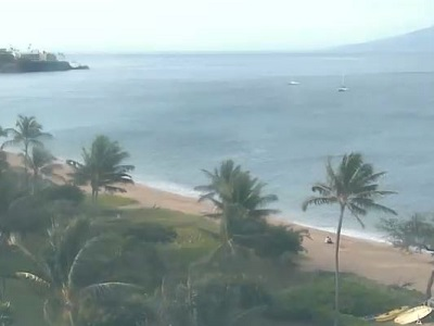 Live view of the ocean and resort from the Westin Ocean Resort Villas South