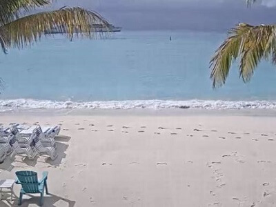 Gorgeous View of the people and beach at White Sands Bay